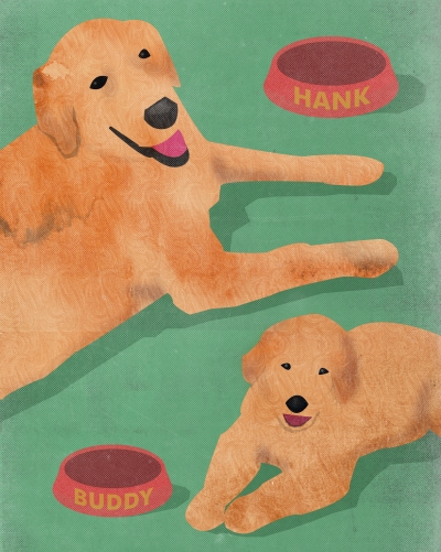 """Hank & Buddy"" - Blake Ink United"
