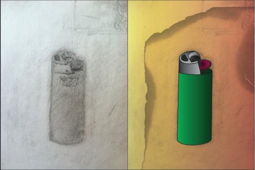 lighter-sketch-illustrated-adobe-illustrator