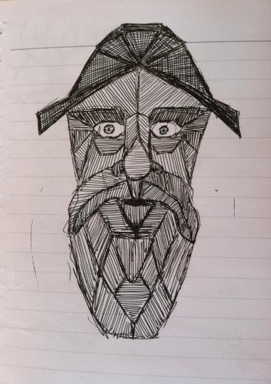 fisherman's blues pen